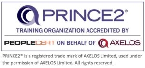 PRINCE2 Training Organization Holte Academy med tekst