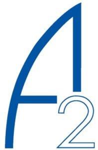 A 2 logo stor